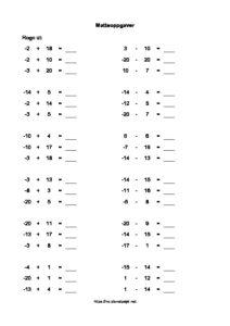 regnestykker-minus-tall-ned-to-20-enkel-matte-for-4-trinn-thumbnail